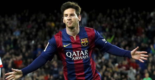 Lionel Messi fue el encargado de marca la primera diana para los azulgranas