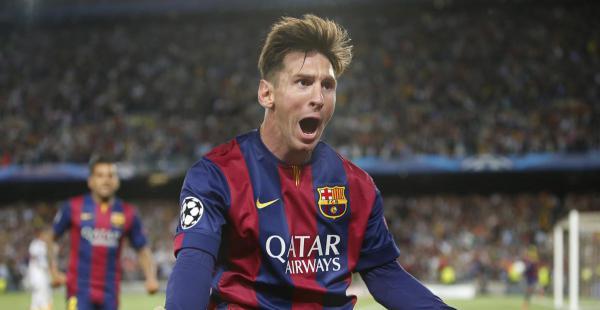 Con los dos goles que marcó ante Bayern Munich en el Camp Nou, Messi lidera la tabla de goleadores de la Liga de Campeones con 10 tantos