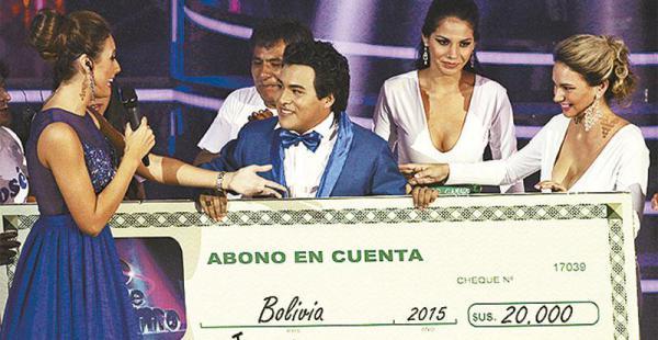 José José recibió un 'chequecito'
