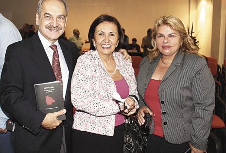 Carlos Dabdoub, Cinthia Roda de Dabdoub y Celsa de Ágreda