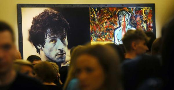 """Sylvester Stallone presenta su exposición """"Amor Real"""" que muestras sus pinturas realizadas entre 1975 y 2015"""