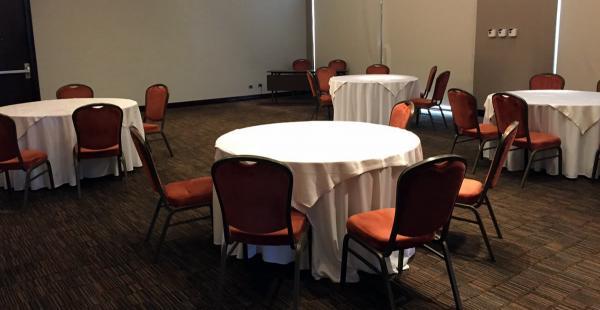 Este será el lugar exclusivo para que los jugadores de la selección boliviana se aliemnten en el hotel Hilton Garden Inn Airport