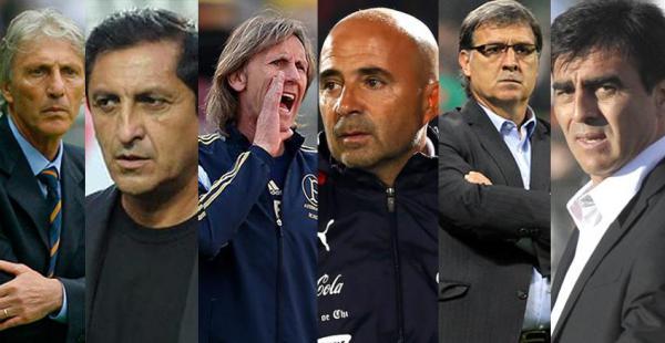 Estos son los doce entrenadores que comandan a las selecciones que competirán en la próxima Copa América 2015