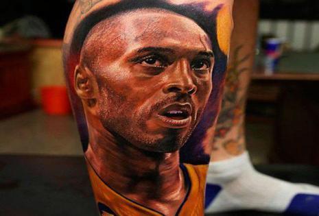 Kobe Bryant, es un jugador estadounidense de baloncesto de 36 años.