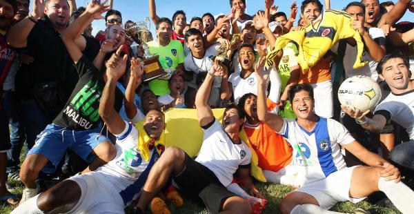 Ferroviario se consagró campeón de la primera B, al vencer a Sebastián Pagador por 1-0, en el estadio Municipal