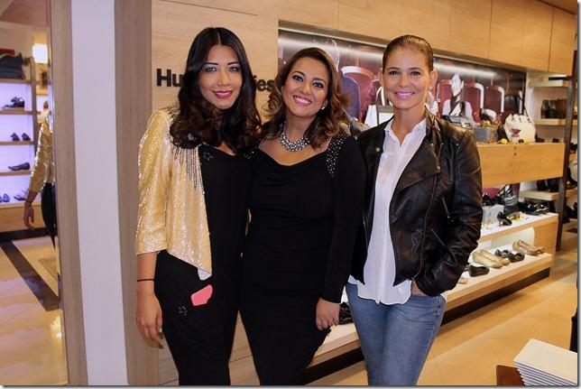 Katherine Maldonado, Cecilia Bellido y Sandra Parada