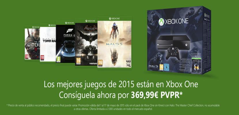 Xbox One Microsoft rebaja Xbox 360 a 199 euros