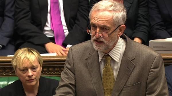 Debate. El laborista Corbyn, en una participación en el Parlamento (AP).