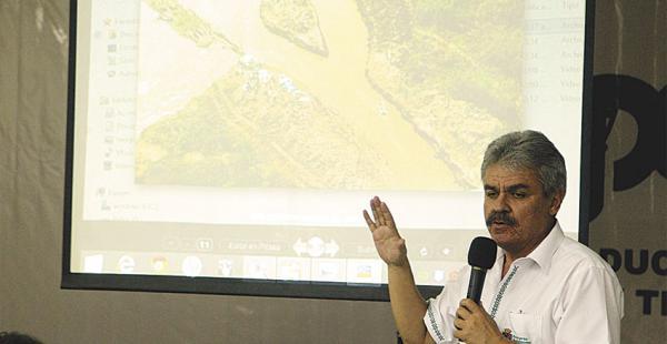 Luis Alberto Alpire, secretario de Desarrollo Productivo de la Gobernación, pide apoyo
