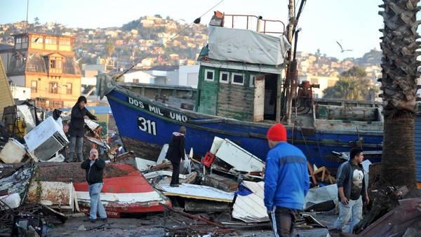 Así quedó Coquimbo, la ciudad más afectada por el terremoto en Chile. (Reuters)