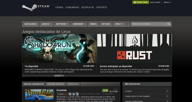 juegos linux steam