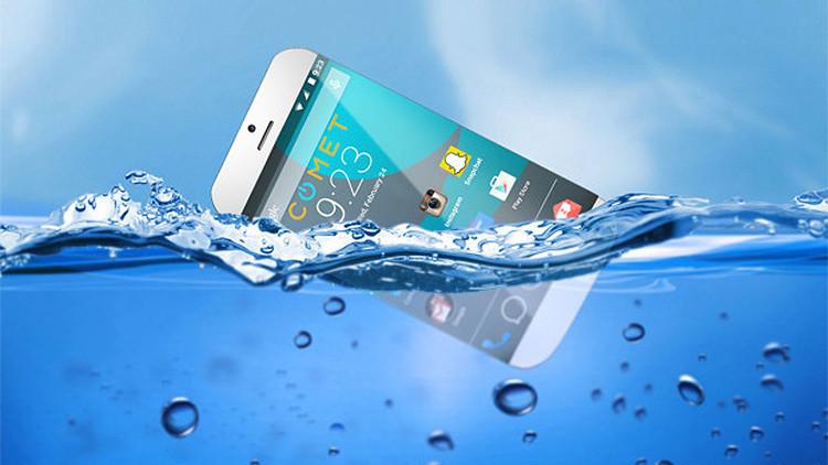 Inventan el smartphone capaz de flotar en el agua