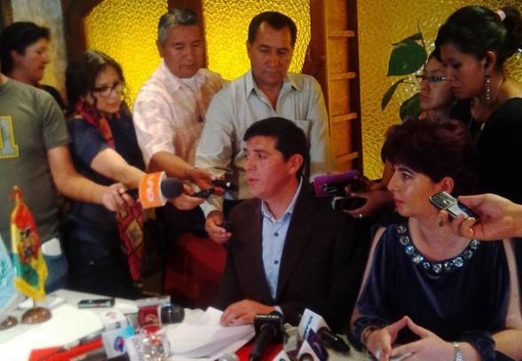 El representante legal de JOCA en Bolivia, Waldo Viscarra. - Los Tiempos Digital | Usuario