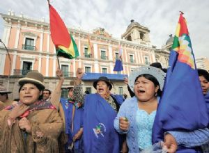 El presidente Morales afirma que no utilizará el fallo políticamente