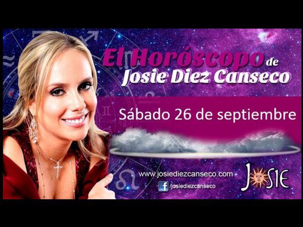 Josie Diez Canseco: Horóscopo del sábado 26 de septiembre (FOTOS)