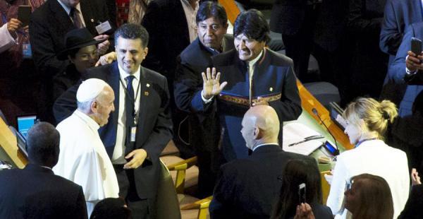 El presidente Evo Morales se encuentra en Nueva York participando de actividades ligadas a la Asamblea General de la ONU