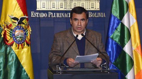 El ministro de la Presidencia, Juan Ramón Quintana