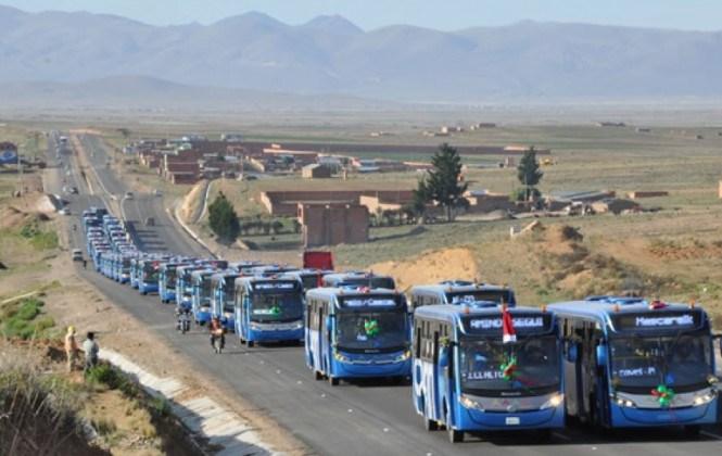 Alcaldía de El Alto decide cambiar nombre de los buses Sariri y convoca a un relanzamiento