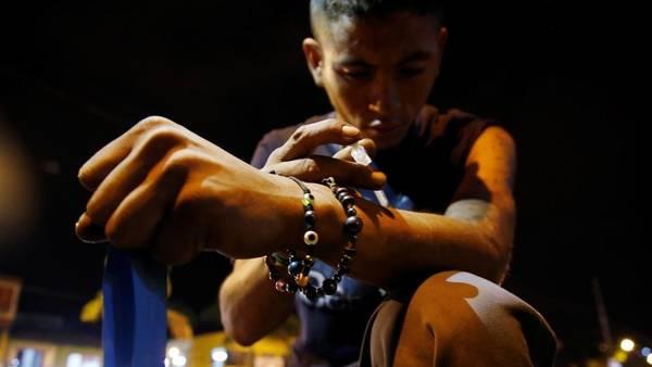 El infierno de los drogadictos en Colombia./ AP