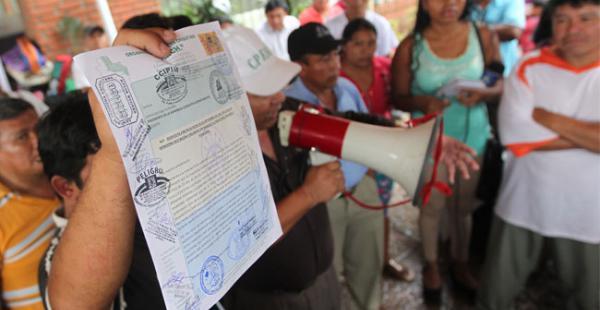 La vigilia pide la inclusión en el Estatuto Autonómico y la modificación de la Ley Nº13 correspondiente a la distribución de regalías
