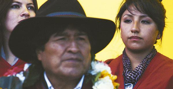 Ella es uno de los tesoros más preciados del primer mandatario de Bolivia