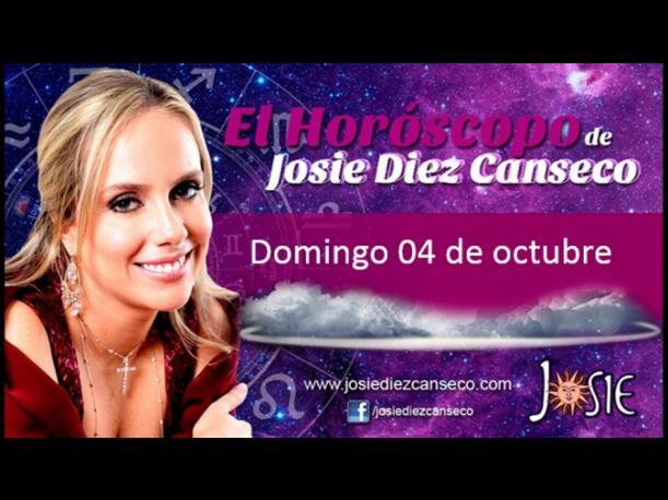 Josie Diez Canseco: Horóscopo del domingo 04 de octubre (FOTOS)