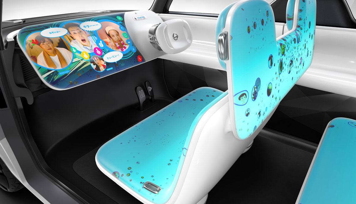 El Nissan del futuro es todo pantalla