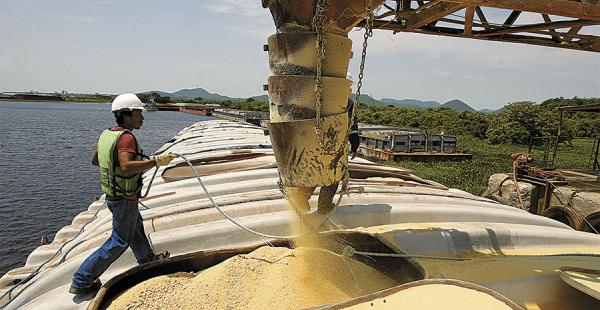 Mercado. El alquiler de barcazas lo realizan extranjeros. Hay unas de 1.200 a 2.200 t para aceite y otras para harina
