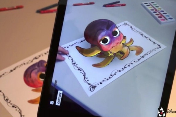 Disney Reserch: Conoce la aplicación que permitirá ver los dibujos en  3D
