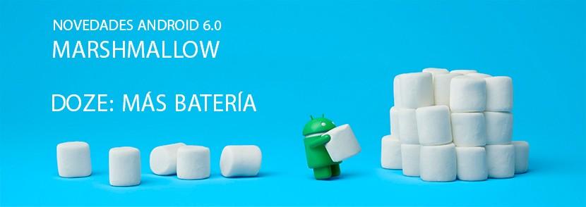 NOVEDADES ANDROID 6 doze 830x294 Novedades Android 6.0 Marshmallow, Doze