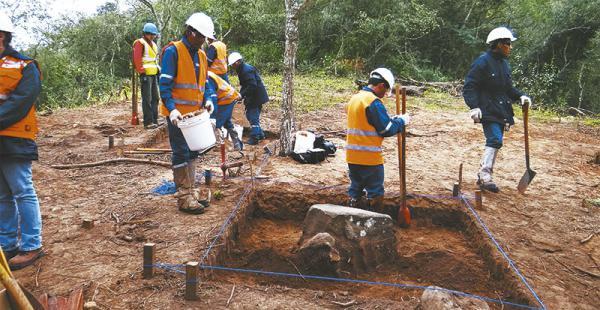 Los restos desvelan la habilidad para crear objetos de los guaraníes, así como el uso de rutas de intercambio