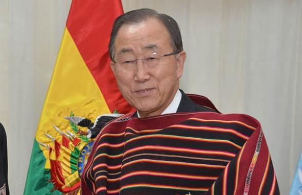 El secretario general de la Organización de Naciones Unidas, Ban Ki-moon. -   Abi Agencia
