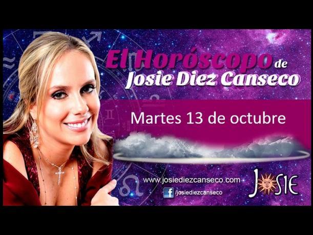 Josie Diez Canseco: Horóscopo del martes 13 de octubre (FOTOS)