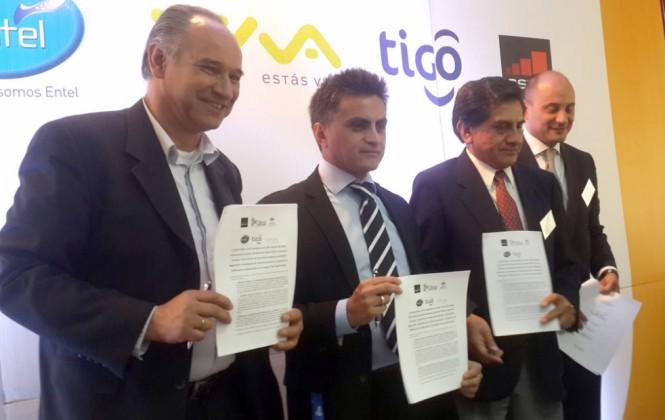 Entel, Viva y Tigo se unen para enfrentar la inseguridad y los delitos vía celular