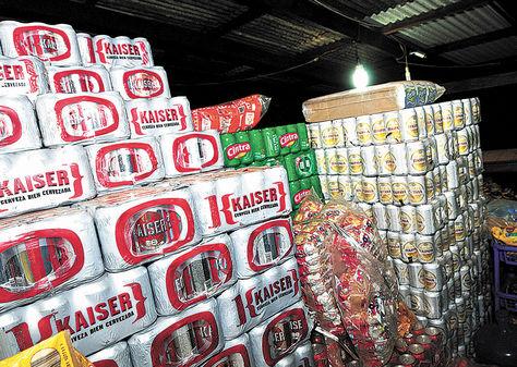Cobija. En la capital de Pando una lata de cerveza brasileña cuesta en promedio unos Bs 4,50.
