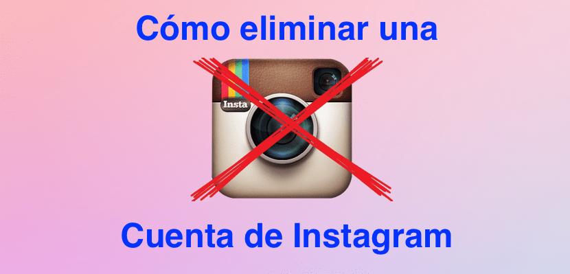 Como eliminar instagram 830x399 Cómo eliminar una cuenta de Instagram