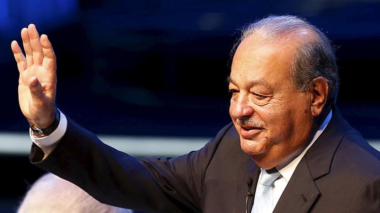 El multimillonario Carlos Slim