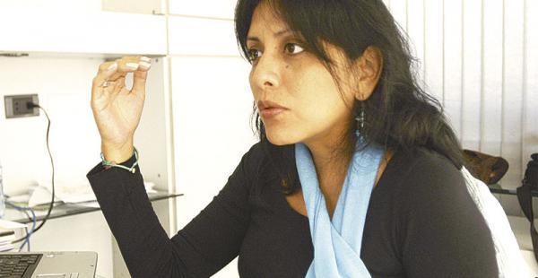recién posesionada la periodista gísela lópez en es gerente del canal estatal
