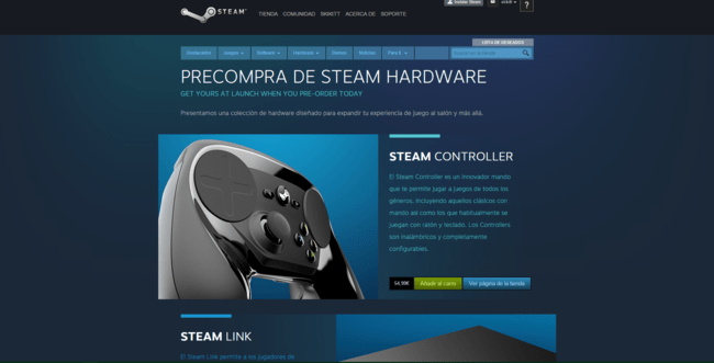 Steam Hardware