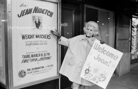 Jean Nidetch, fundadora de Weight Watchers