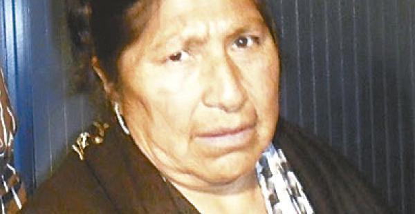 Esther Morales, hermana de Evo