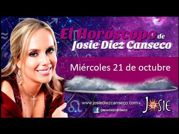Josie Diez Canseco: Horóscopo del miércoles 21 de octubre (FOTOS)