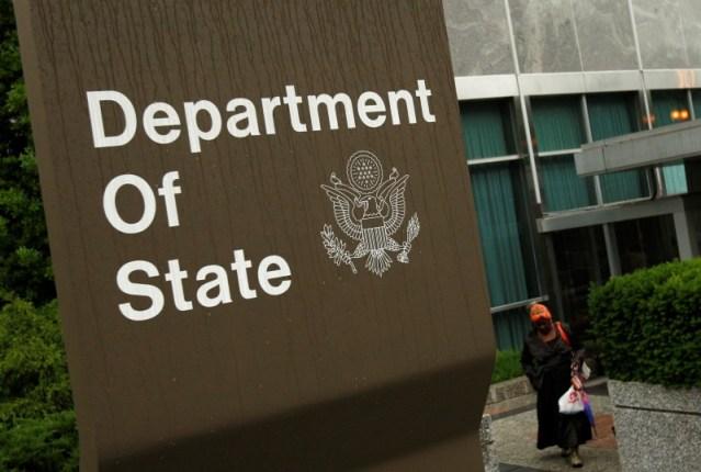 Imagen de archivo del edficio del Departamento de Estado de Estados Unidos en Washington
