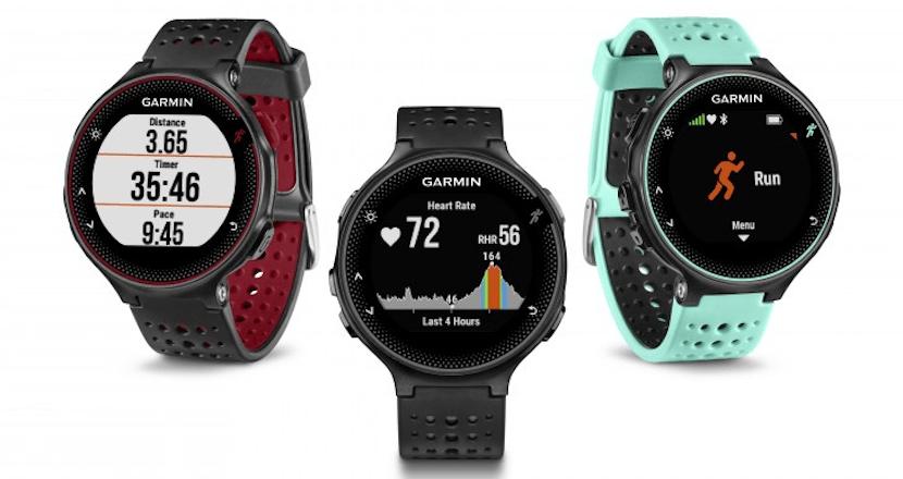 smartwatch garmin 830x440 Garmin tiene tres nuevos relojes que te encantarán si sales a correr