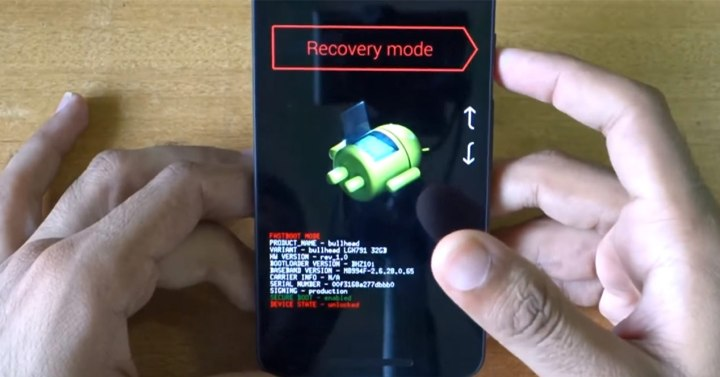 Recovery en Nexus 5X