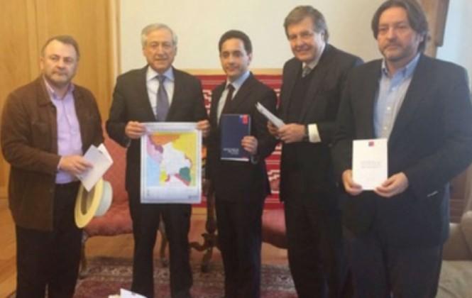 Diputados chilenos usan mapa de pérdidas territoriales de Bolivia en ofensiva contra la causa marítima