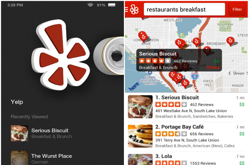 yelp Amazon Echo ya se conecta con Yelp