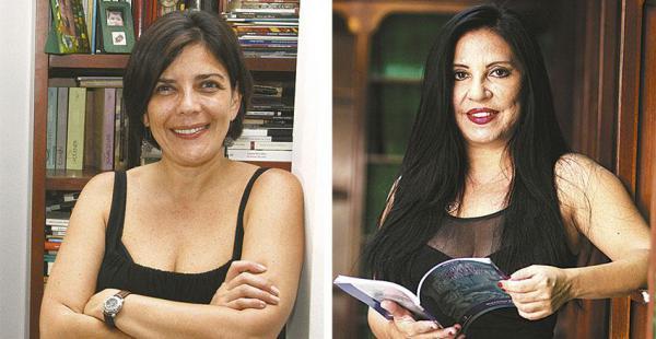 Magela Baudoin, finalista con su libro de cuentos   Giovanna Rivero, ganadora del Cosecha Eñe