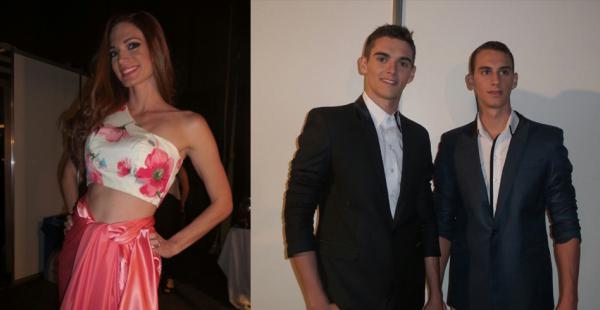 Foto 1: Alison Roca. Foto 2: Fausto y Matiae Machado