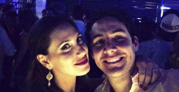 Pablo Fernández y Patricia Roca